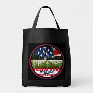 Veterans Grocery Tote Bag