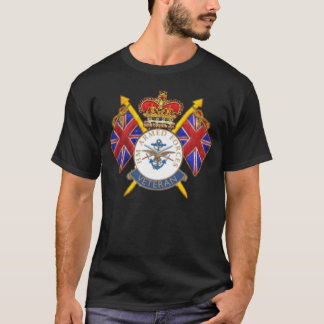 Veteran's Logo Black T-Shirt
