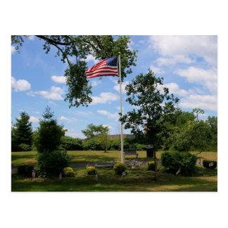 Veterans Memorial Garden Postcard