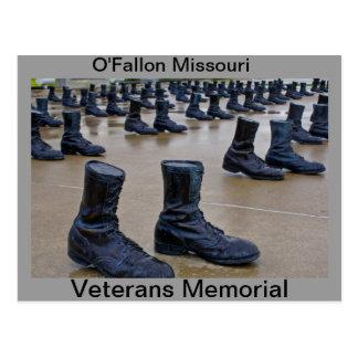 Veterans Memorial Walk Postcard