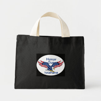 Veterans Mini Tote Bag