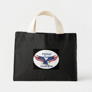 Veterans Mini Tote Bag
