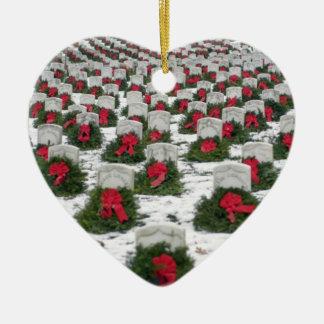 "Veterans ""Remembered"" Christmas Tree Ornament"