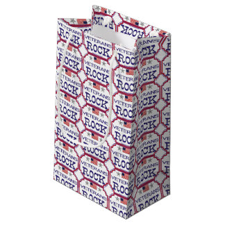 Veterans Rock Small Gift Bag