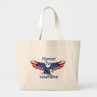 Veterans Jumbo Tote Bag