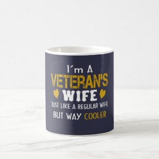 Veteran's Wife Coffee Mug