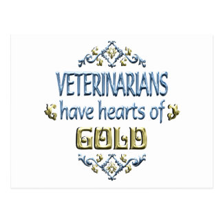VETERINARIAN Appreciation Postcard