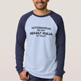Veterinarian Deadly Ninja T-shirt