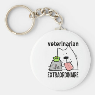 Veterinarian Extraordinaire Key Ring