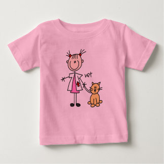 Veterinarian Stick Figure Baby T-Shirt