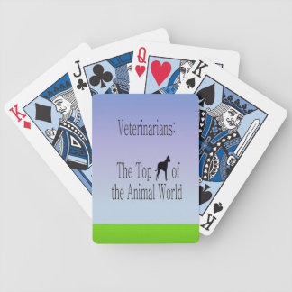Veterinarians Are The Top Dog Bicycle Card Deck