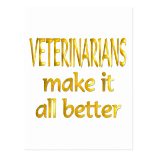 Veterinarians Postcard