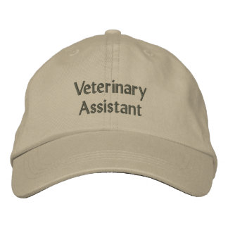 Veterinary Assistant Embroidered Cap
