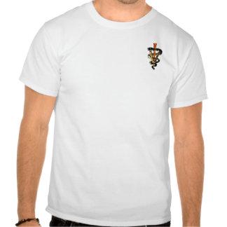 Veterinary Caduceus T Shirts