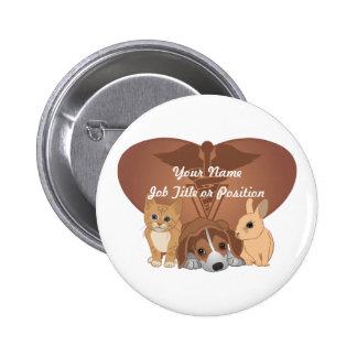 Veterinary Medicine 6 Cm Round Badge