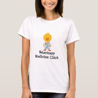 Veterinary Medicine Chick Tee Shirt
