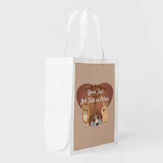 Veterinary Medicine Professional Reusable Grocery Bag