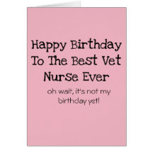 Nurse birthday cards invitations zazzle bookmarktalkfo Images