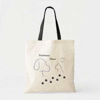 Veterinary Nurse Budget Tote Bag