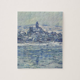 Vetheuil, Ice Floes by Claude Monet Jigsaw Puzzle