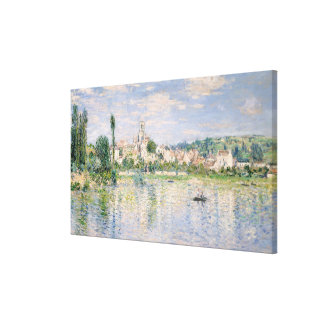 Vétheuil in Summer Canvas Print
