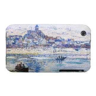 Vetheuil in Winter Claude Monet iPhone 3 Covers