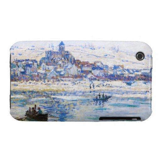 Vetheuil in Winter Claude Monet iPhone 3 Case-Mate Cases