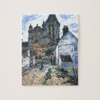 Vetheuil, The Church by Claude Monet Jigsaw Puzzle