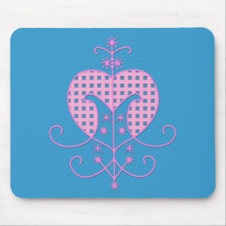 Veve for Erzulie Freda Mouse Mat