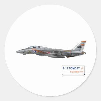 VF-114 Aardvarks Round Sticker