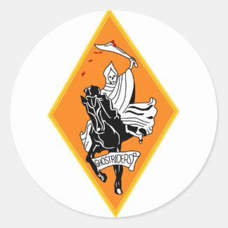 VF-142 Ghostriders Classic Round Sticker