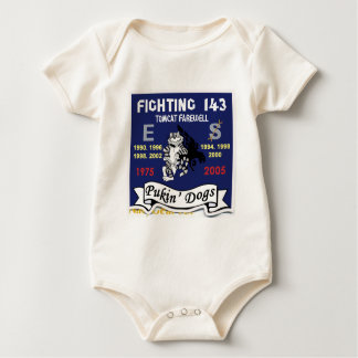 vf-143 Pukin' Dogs 2005 Baby Bodysuit