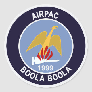 vf-211 1999 Airpac boola F-14 Tomcat Patch Stickers