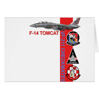 VF-211 Fighting Checkmates Greeting Card