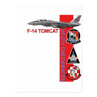 VF-211 Fighting Checkmates Postcard