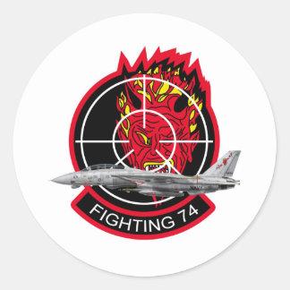 VF-74 Be-Devilers Classic Round Sticker