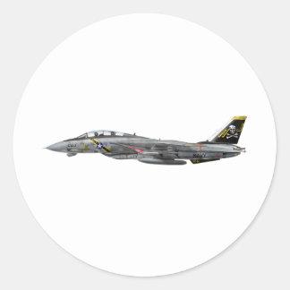 vf-84 f-14 Tomcat Round Sticker