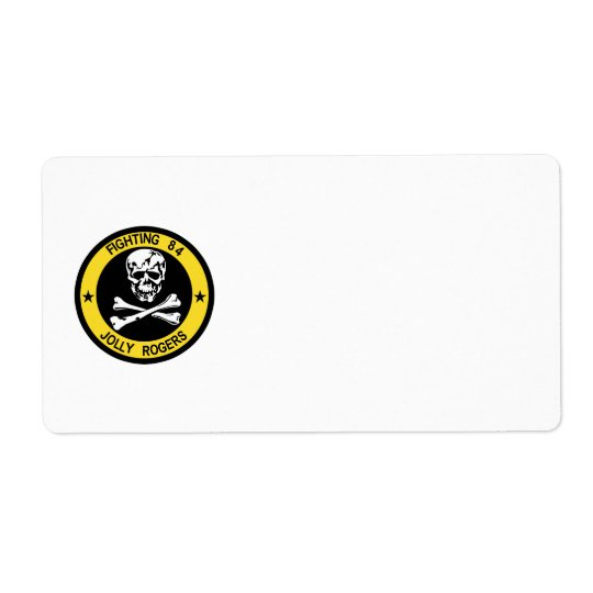 VF-84 Jolly Rogers Avery Label Shipping Label