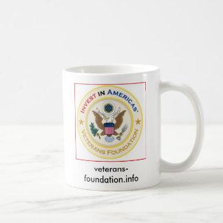 vf official grey logo, veterans-foundation.info basic white mug