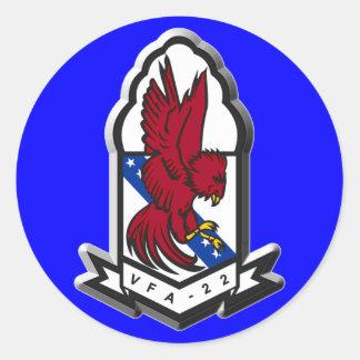 vfa22 round sticker