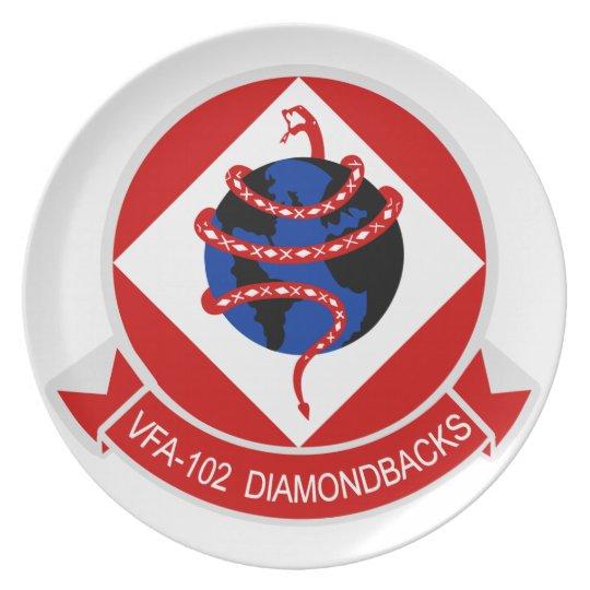 VFA-102 Diamondbacks Plate