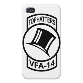 VFA-14 Tophatters iPhone Case iPhone 4 Case
