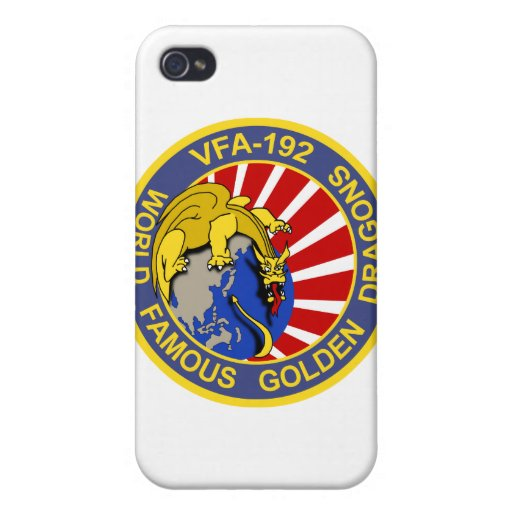 VFA-192 Golden Dragons iPhone Case iPhone 4/4S Cases