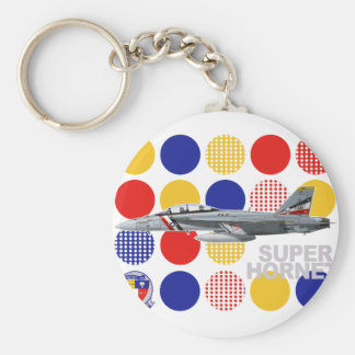 """VFA-2 """"Bounty Hunters"""" F-18 Squadron Keychain"""