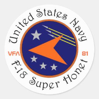 VFA-81 SUNLINERS STICKER