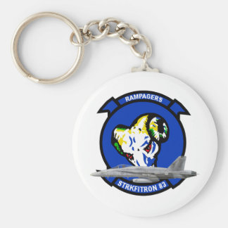 VFA-83 Rampagers Keychain