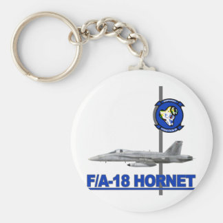 VFA-83 Rampagers with F-18 Hornet Key Chains