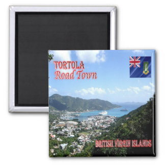 VG - British Virgin Islands - Tortola - Road Town Magnet