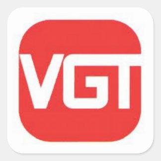 VGT Sports Square Sticker