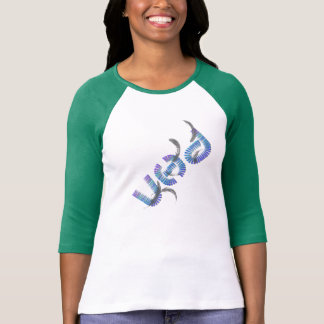 VHD Ladies 3/4 Sleeve Raglan (Fitted) T-Shirt